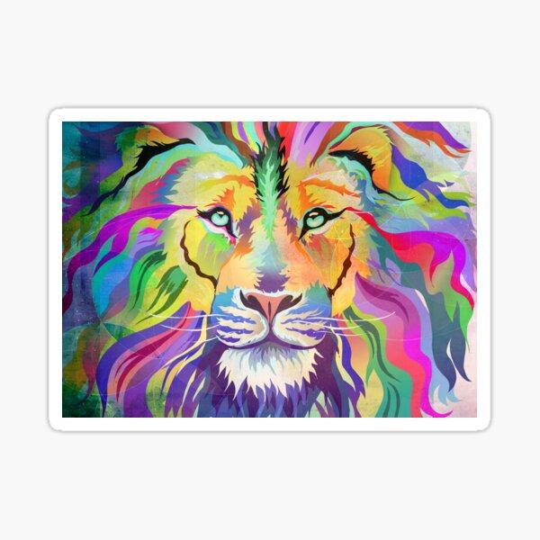 The King of Technicolor Sticker