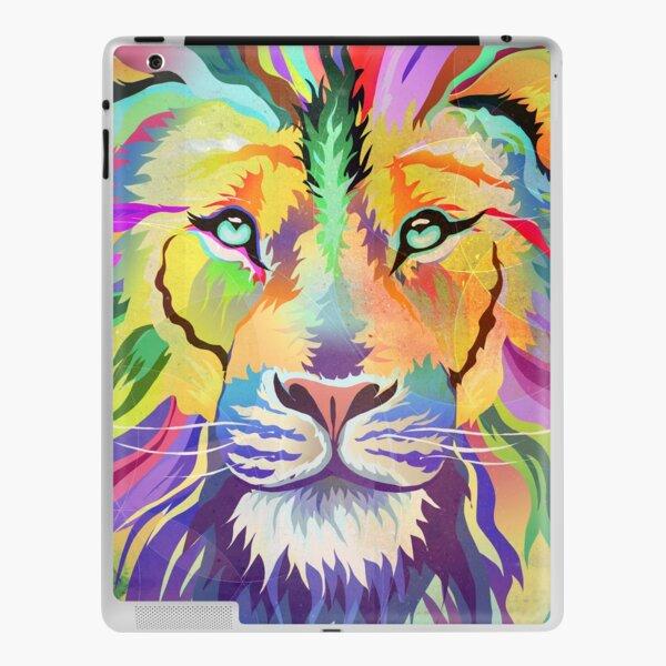 The King of Technicolor iPad Skin