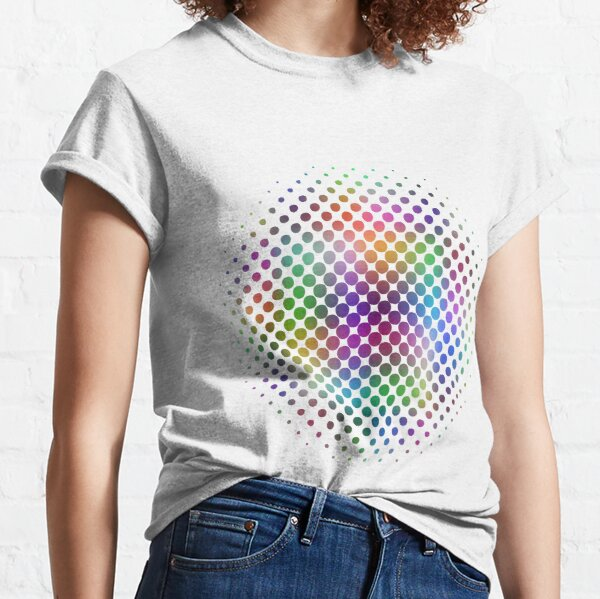 Radial Dot Gradient Classic T-Shirt