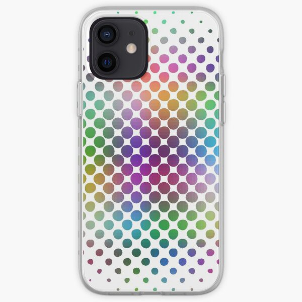 Radial Dot Gradient iPhone Soft Case