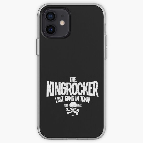 Kingrocker distressed logo iPhone Flexible Hülle