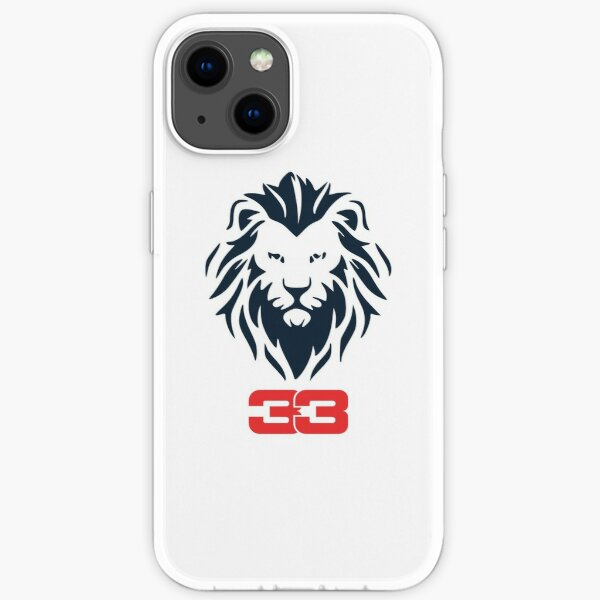 Max Verstappen 33 Formel 1 Mad Max Lion Logo F1 Auto Red Bull Racing 2021 iPhone Flexible Hülle