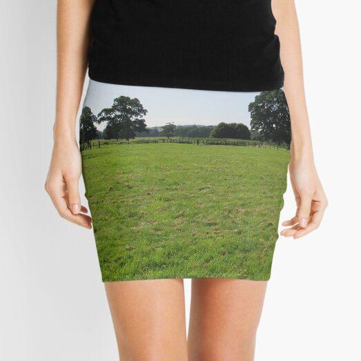 M.I. #117  ☼  Distant Love Heart Pareidolia Trees (Hadrian's Wall) Mini Skirt
