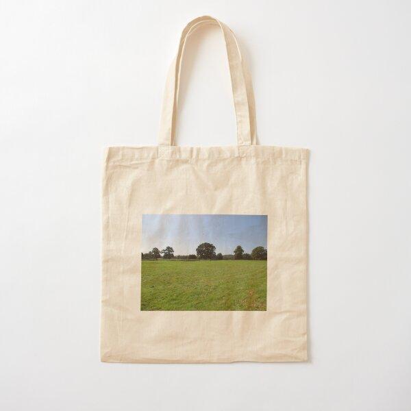 M.I. #117 |☼| Distant Love Heart Pareidolia Trees (Hadrian's Wall) Cotton Tote Bag