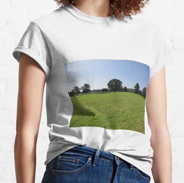 M.I. #117 |☼| Distant Love Heart Pareidolia Trees (Hadrian's Wall) Classic T-Shirt