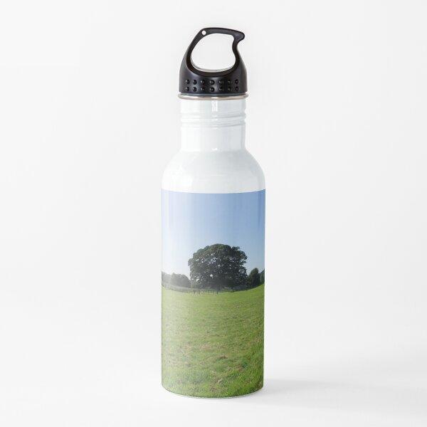 M.I. #117 |☼| Distant Love Heart Pareidolia Trees (Hadrian's Wall) Water Bottle