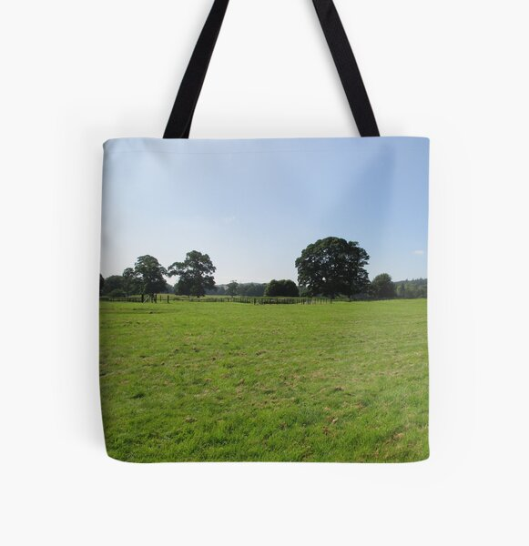 M.I. #117 |☼| Distant Love Heart Pareidolia Trees (Hadrian's Wall) All Over Print Tote Bag