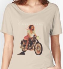 Ciao Bella! (Transparent background) Women's Relaxed Fit T-Shirt