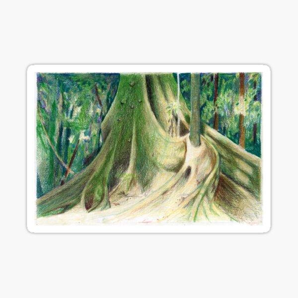 Tree Study Sticker