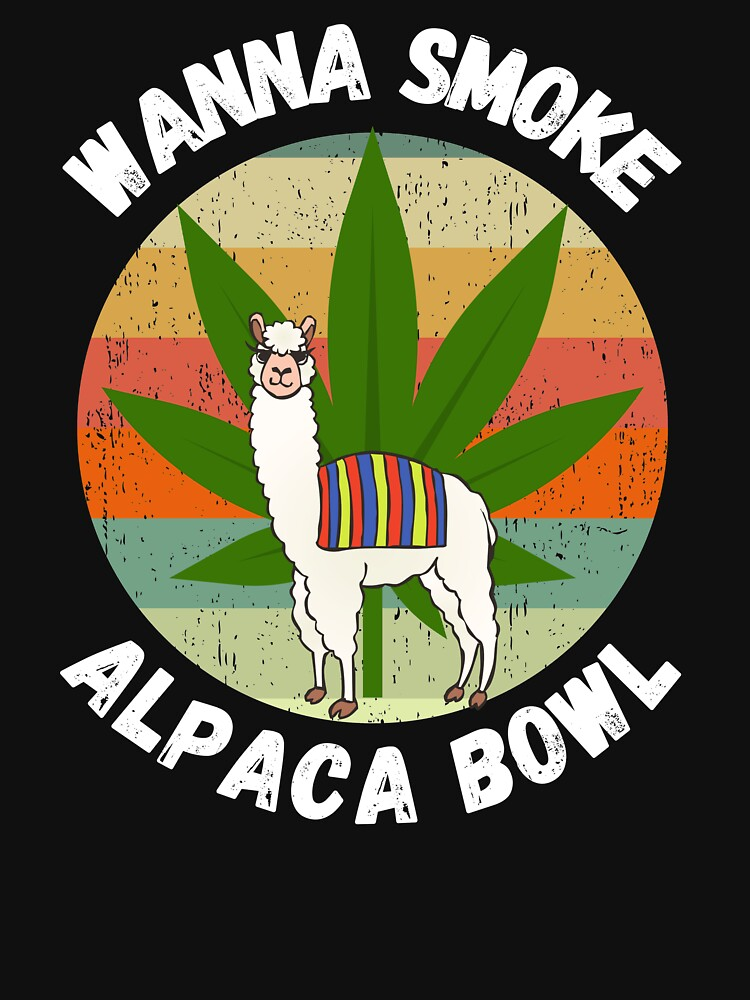 Wanna Smoke Alpaca Bowl by ds-4