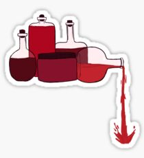 Potion Spill Sticker