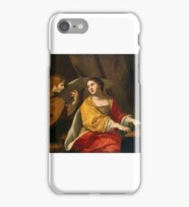 Jacques Blanchard - Saint Cecilia iPhone Case/Skin