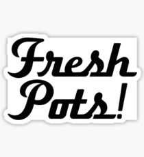 Fresh Pots Dave Grohl Mug Sticker