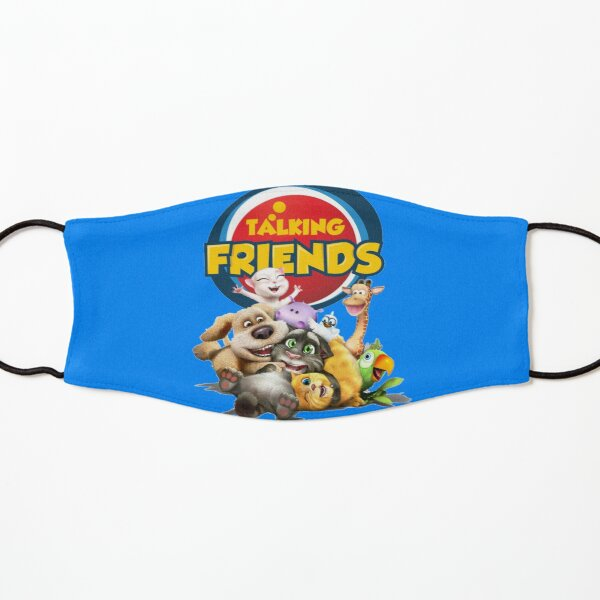 Talking Tom and Friends T-shirt & Mask and Sticker Kids Mask