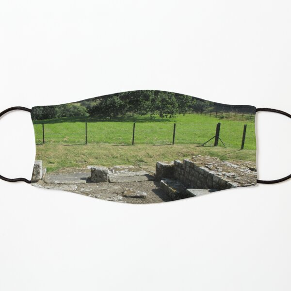 M.I. #118  ☼  Abundant Trees Beyond Rocky Remains - Shot 1 (Hadrian's Wall) Kids Mask