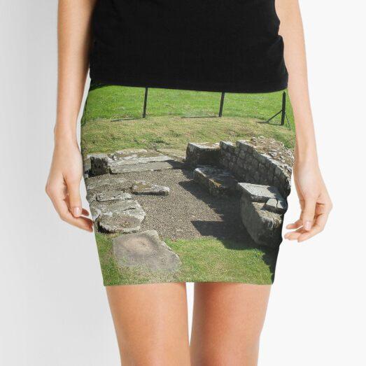 M.I. #118  ☼  Abundant Trees Beyond Rocky Remains - Shot 1 (Hadrian's Wall) Mini Skirt
