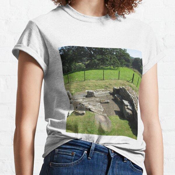 M.I. #118 |☼| Abundant Trees Beyond Rocky Remains - Shot 1 (Hadrian's Wall) Classic T-Shirt