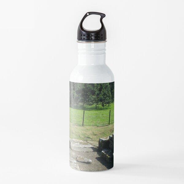 M.I. #118 |☼| Abundant Trees Beyond Rocky Remains - Shot 1 (Hadrian's Wall) Water Bottle