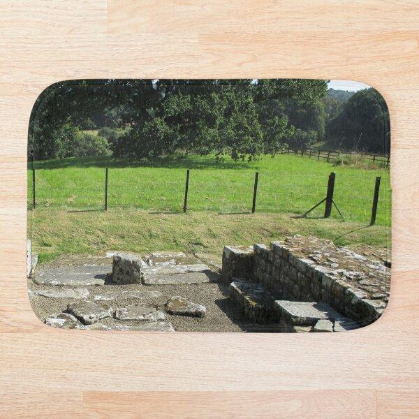 M.I. #118 |☼| Abundant Trees Beyond Rocky Remains - Shot 1 (Hadrian's Wall) Bath Mat