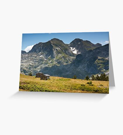 In the mountains Greeting Card