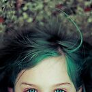 Green Haired Girl by maliceofalice