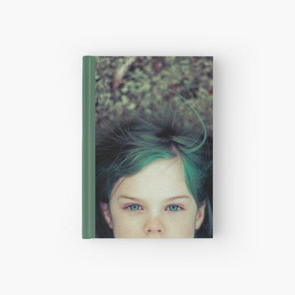 Green Haired Girl Hardcover Journal