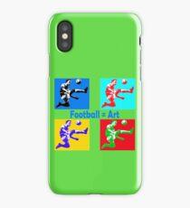 Football = art iPhone Case/Skin