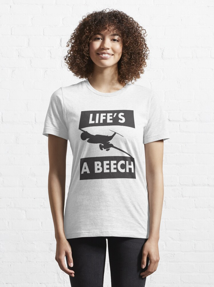 Alternate view of Model 13 - Life's a Beech Essential T-Shirt