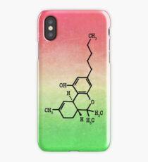 Marijuana - THC Molecular Structure iPhone Case/Skin