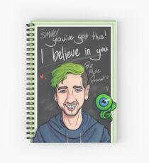 JackSepticEye Motivational Poster Spiralblock