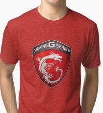 MSI Gaming Logo Tri-blend T-Shirt