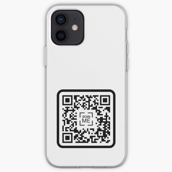 Código QR de PornHub [Estilo 2] Funda blanda para iPhone