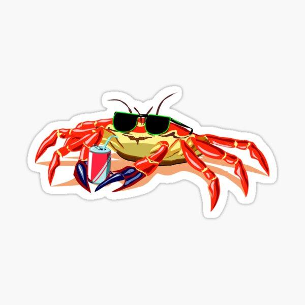 Cool Crab Sticker