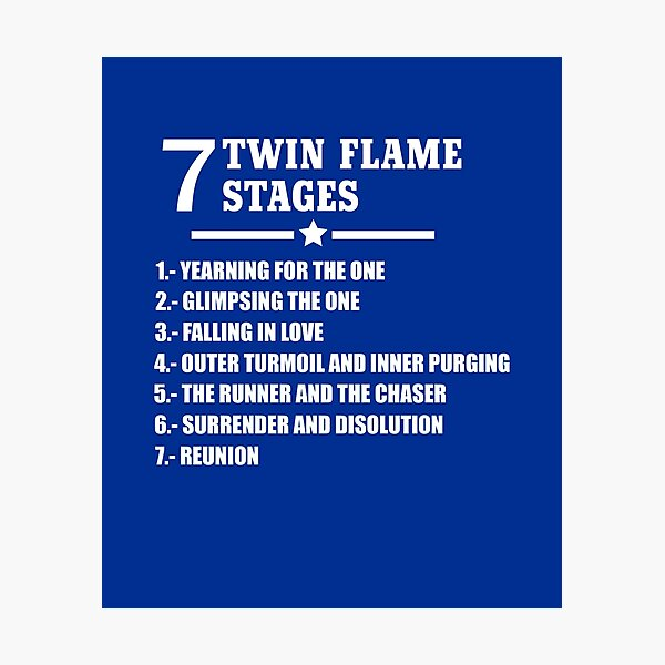 Phases twin flame The 5