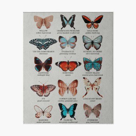 Butterflies  Art Board Print