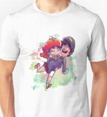 Daisy Carrying Luigi Unisex T-Shirt