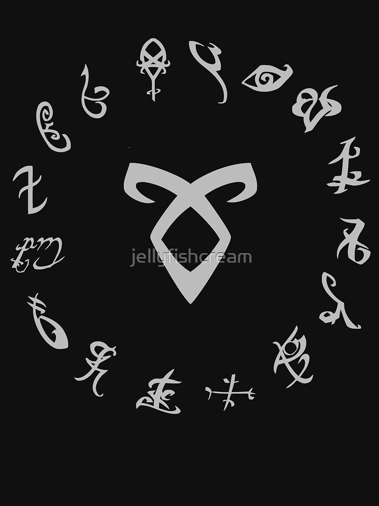 All Runes Symbol - Shadowhunters | Women's Relaxed Fit T-Shirt