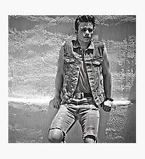 Chris Colfer Photographic Print