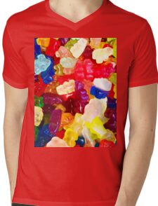 The One With The Gummy Bears Mens V-Neck T-Shirt