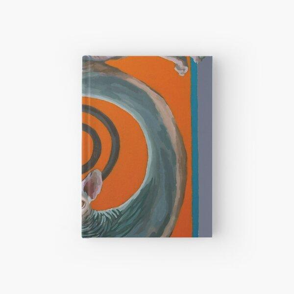 Sphynx Spanked Hardcover Journal