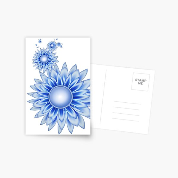 Daisy Blues Postcard