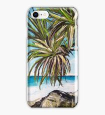 Burleigh-Heads Pandanas iPhone Case/Skin