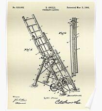 Fireman´s Ladder- 1895 Poster