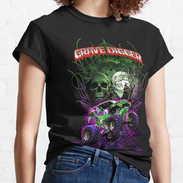 grave digger monster jam monster truck  Classic T-Shirt
