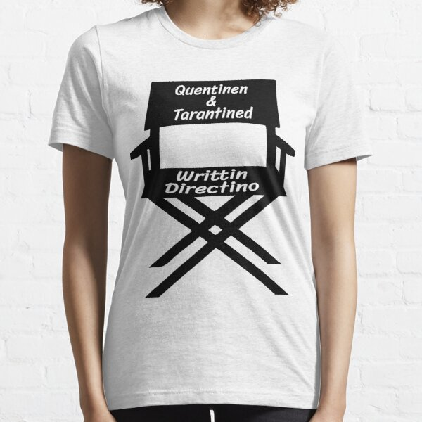 quentinen and tarantined - director's chair Essential T-Shirt