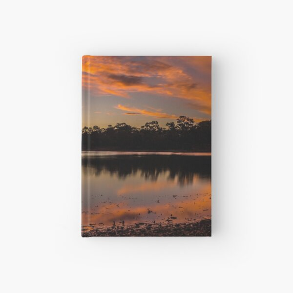 Leap Year Sunset Hardcover Journal