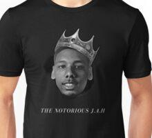 The Notorious J.A.H B/W Unisex T-Shirt