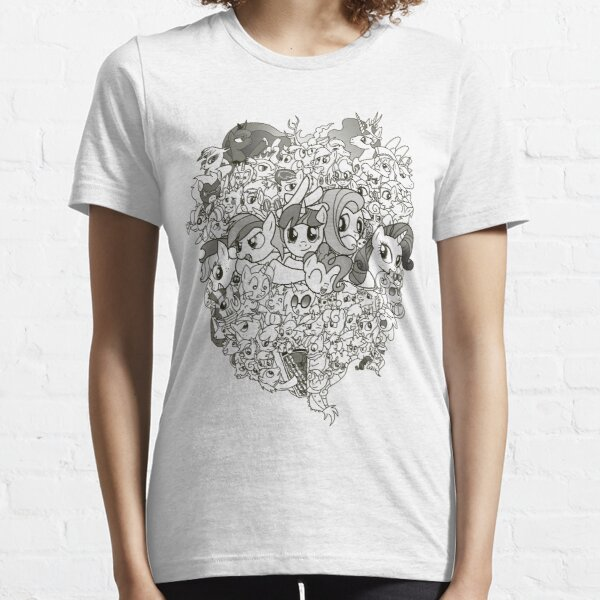 My Little Pony - mid Season 2 Groupshot Essential T-Shirt