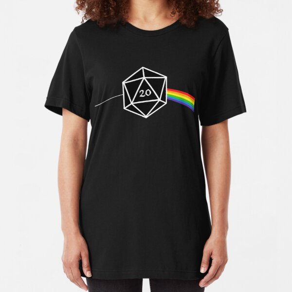 D&d D20 Success Slim Fit T-Shirt