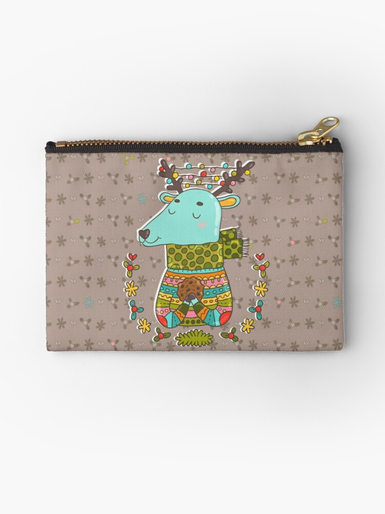 Winter deer by Anna Alekseeva